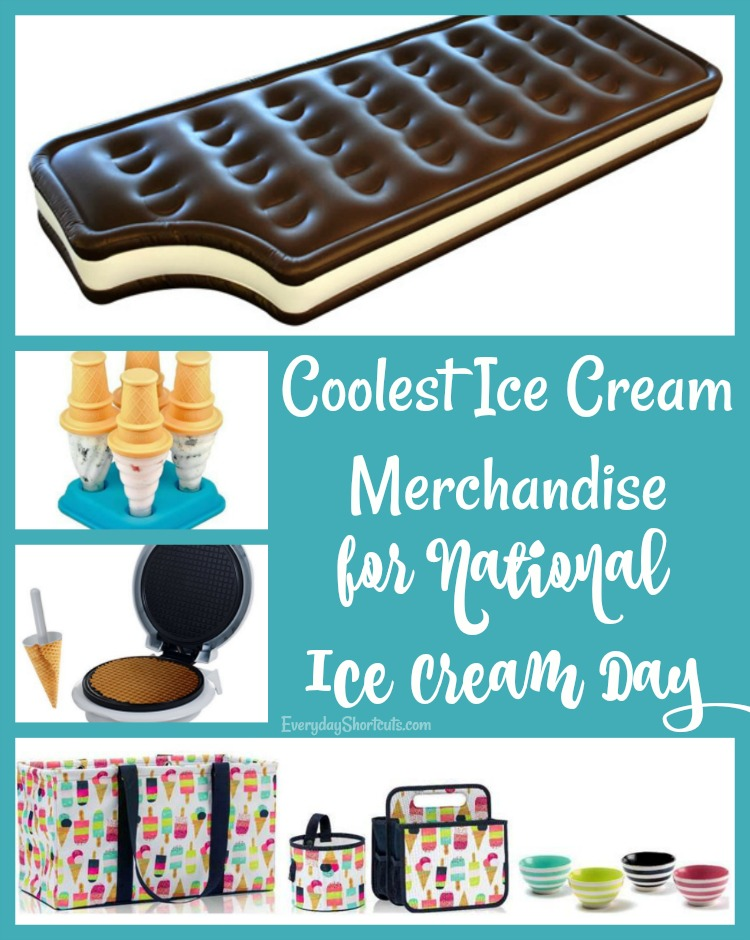 Coolest Ice Cream Merchandise for National Ice Cream Day