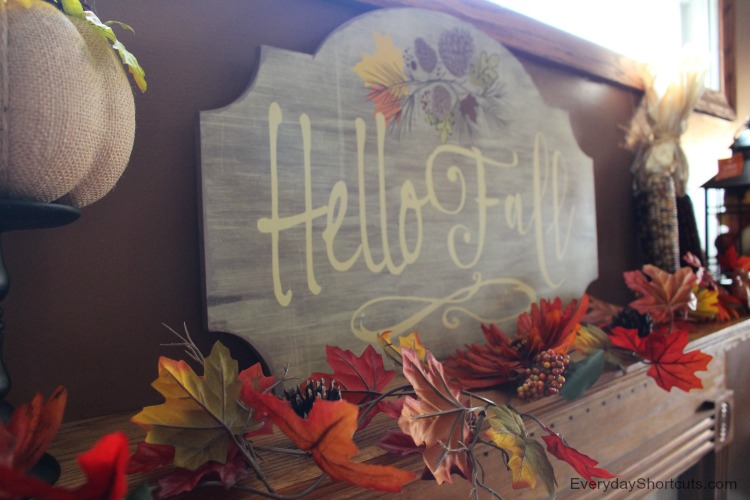 Fall Mantel Decorating Tips