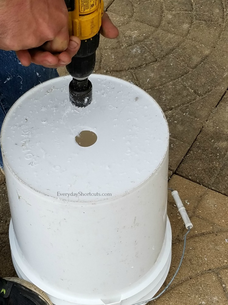 gardening with 5 gallon buckets