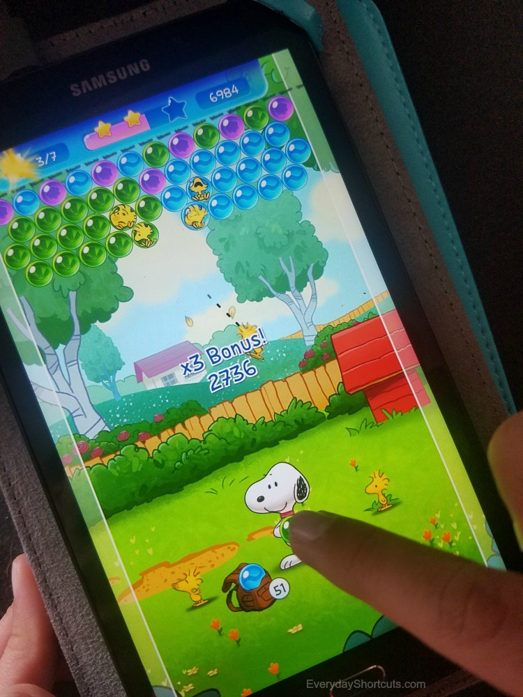 snoopy pop app game