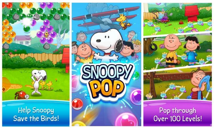 snoopy pop app