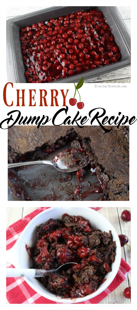 Cherry Dump Cake Recipe Everyday Shortcuts