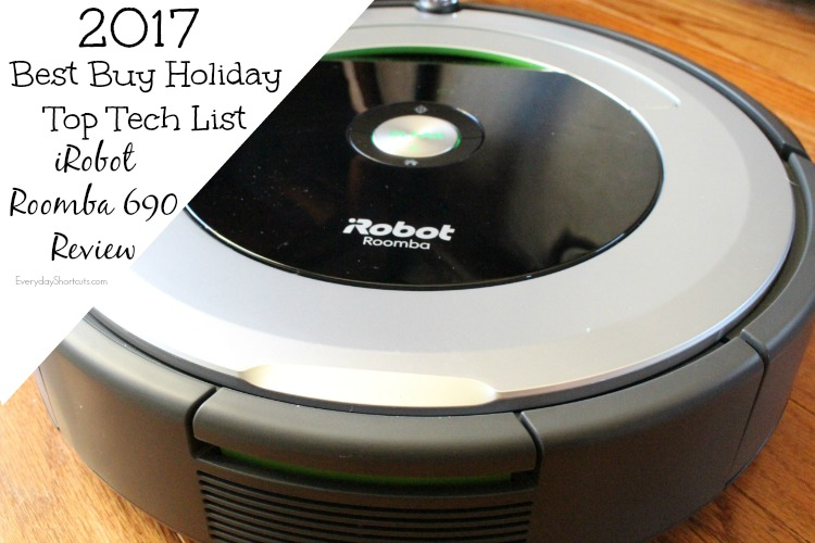 2017 Top Tech List from Best Buy & iRobot Roomba 690 is On It