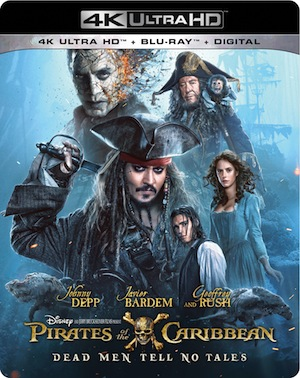 Pirates of the Caribbean: Dead Men Tell No Tales on Blu-ray