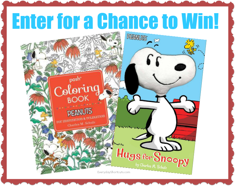 New Peanuts Book & Coloring Pages