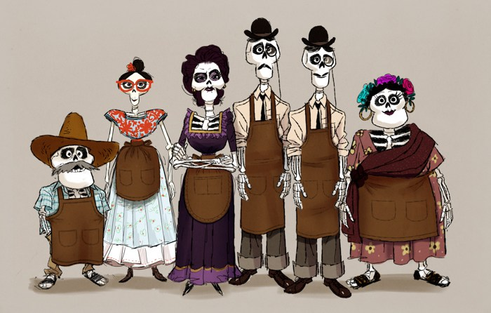 10 Fun Facts about How the Skeletons Were Brought to Life in Pixar's Coco