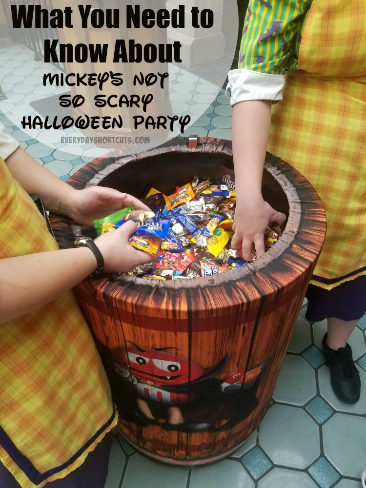 What You Need to Know About Mickey's Not So Scary Halloween Party