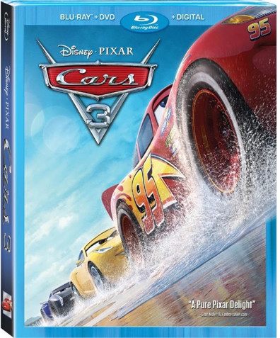 Cars 3 Available on Blu-Ray November 7