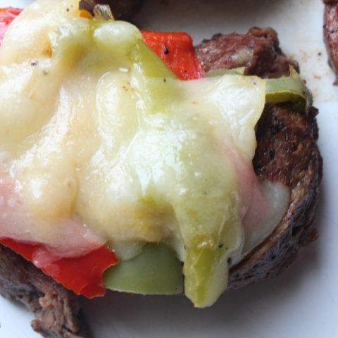 Low Carb Steak Fajita Spirals