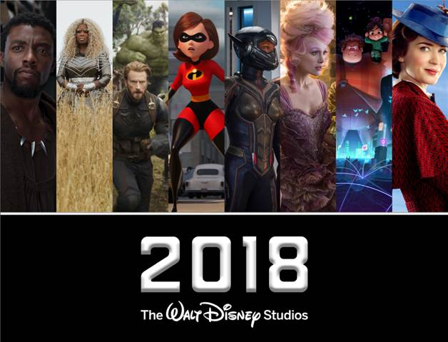 2018 Disney Movies to Add to Your Calendar