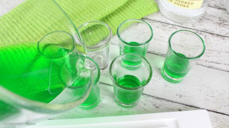 green-jello-shots