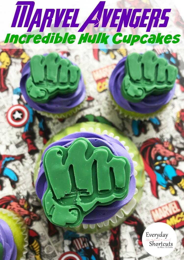 marvel-Avengers-Incredible-Hulk-Cupcakes
