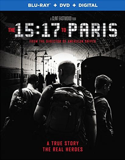 15:17 to Paris DVD Image
