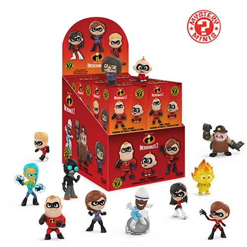 Incredibles 2 Mystery Minis Display Case Image