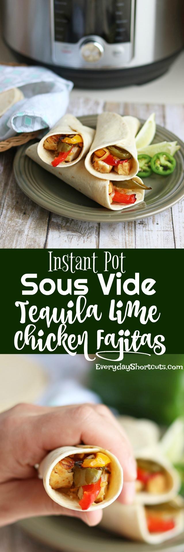 Instant-Pot-Sous-Vide-Tequila-Lime-Chicken-Fajitas