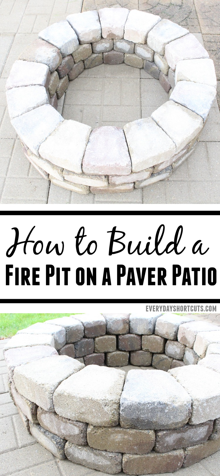 How to Build a Fire Pit On a Paver Patio
