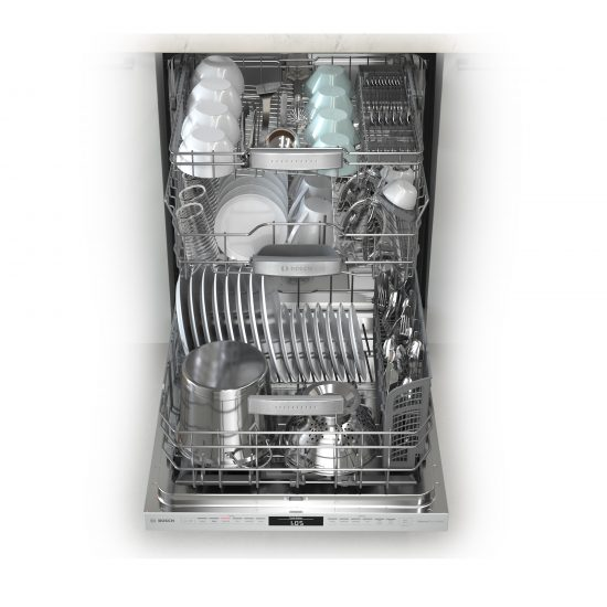 Bosch-800-Dishwasher-MyWay-3-rack-loaded-550x550