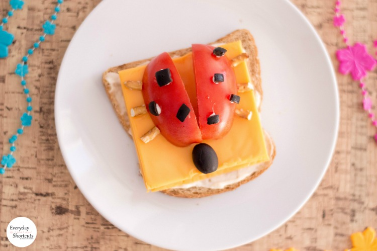 lady-bug-open-faced-sandwich