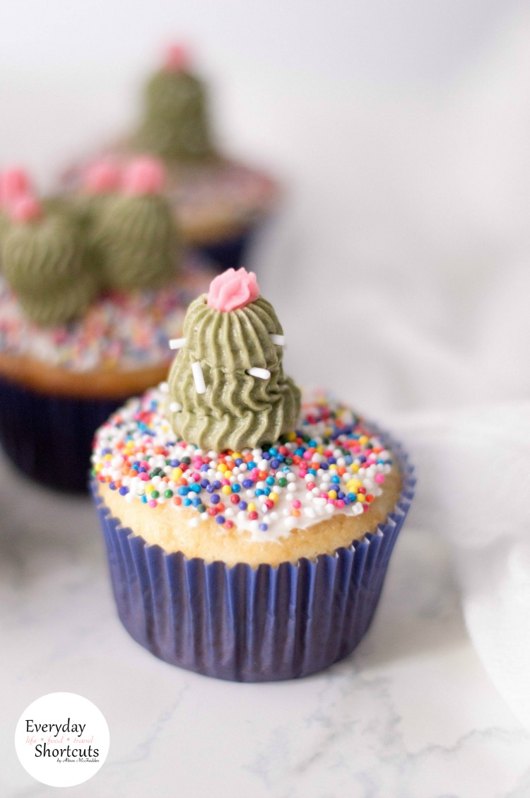 Cacti-Cupcakes-with-Sprinkles