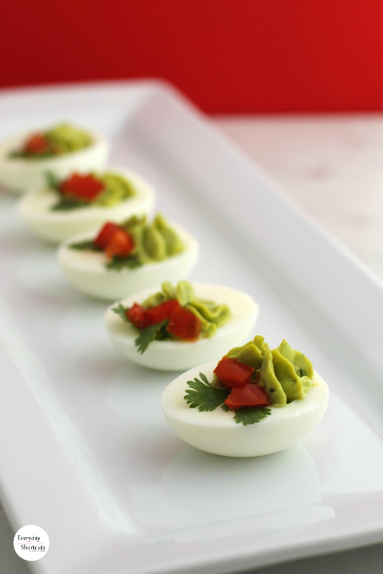 Christmas-Holly-Avocado-Deviled-Eggs-