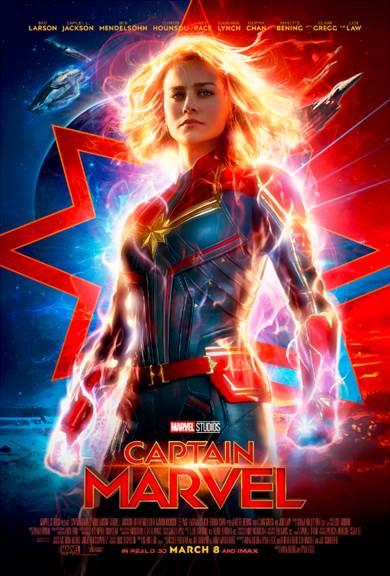 CAPTAIN MARVEL - New Trailer & Poster