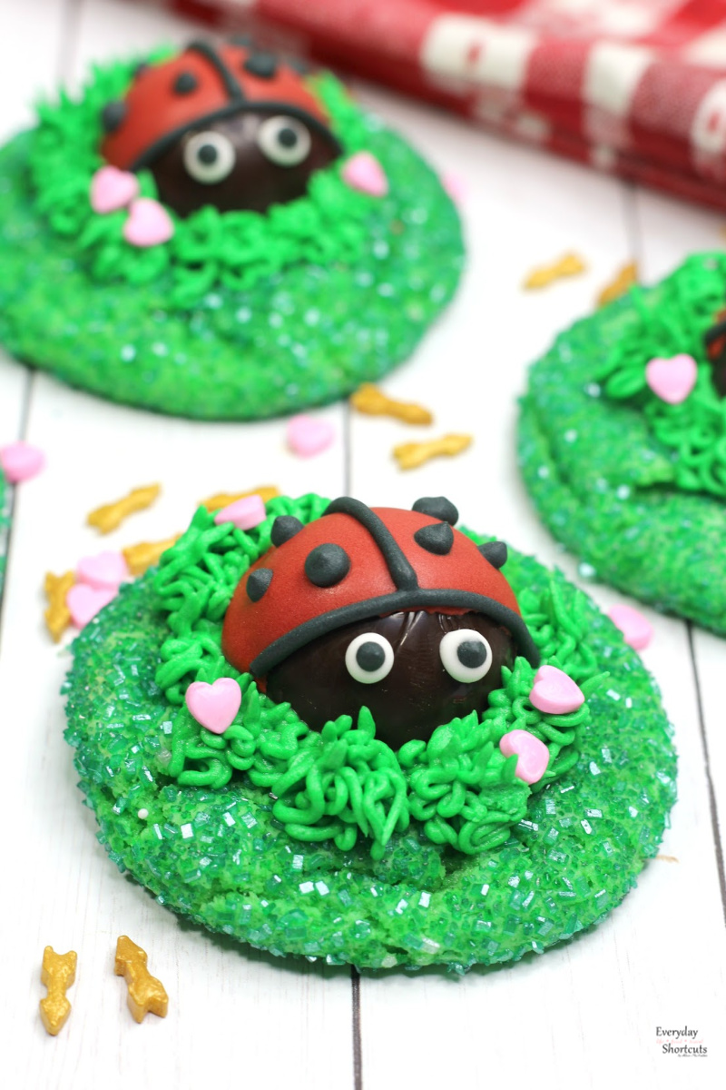 Love Bug Cookies Everyday Shortcuts