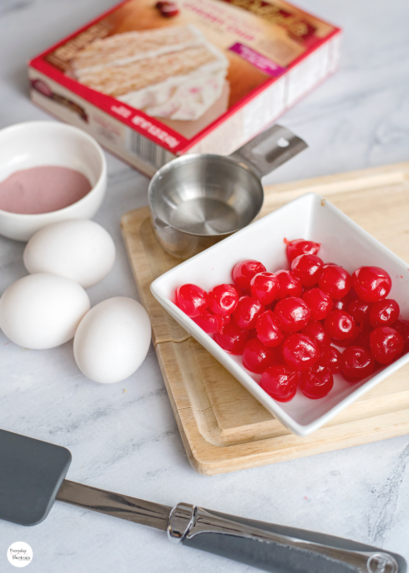 cherry-sheet-cake-ingredients