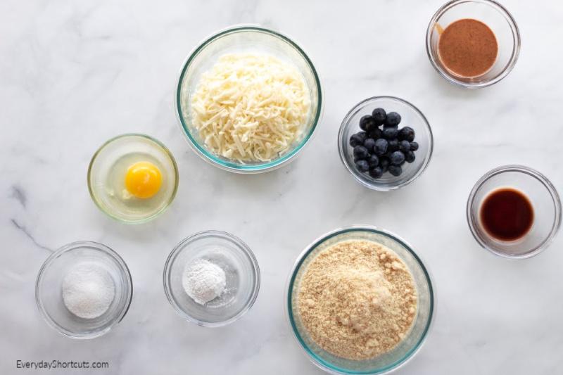 Keto-blueberry-pie-cookies-ingredients