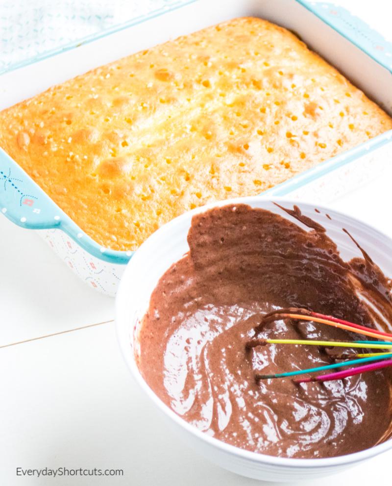 chocolate-poke-cake
