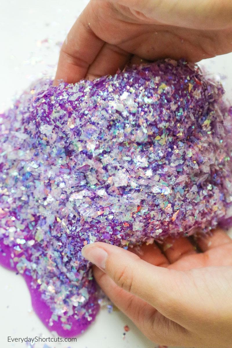 glitter-slime