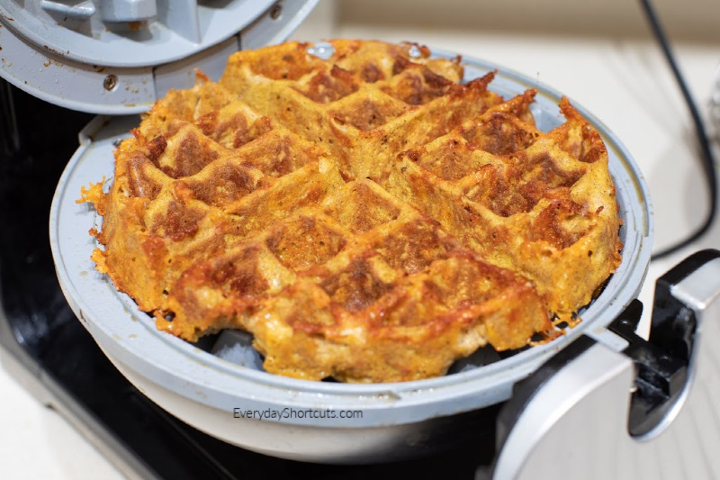 Cook-chaffle-on-waffle-maker