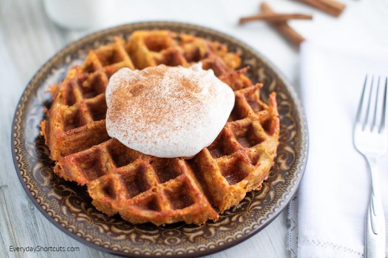 how-to-make-pumpkin-pie-chaffle