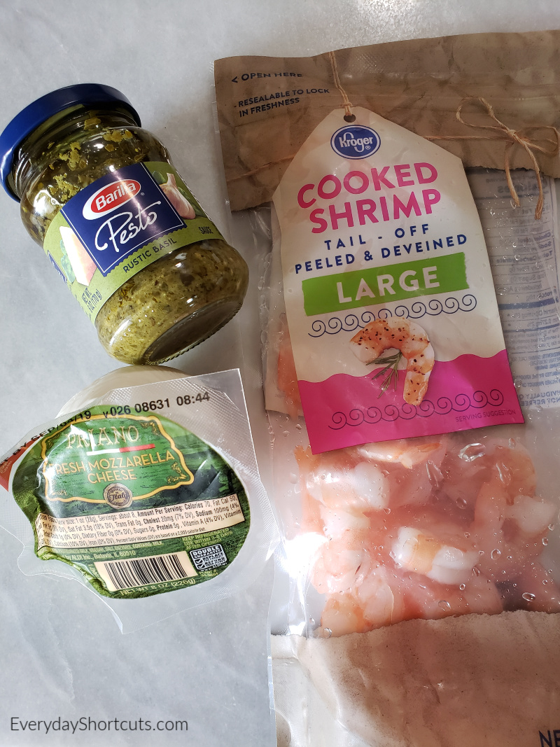 ingredients-for-shrimp-pesto-pizza
