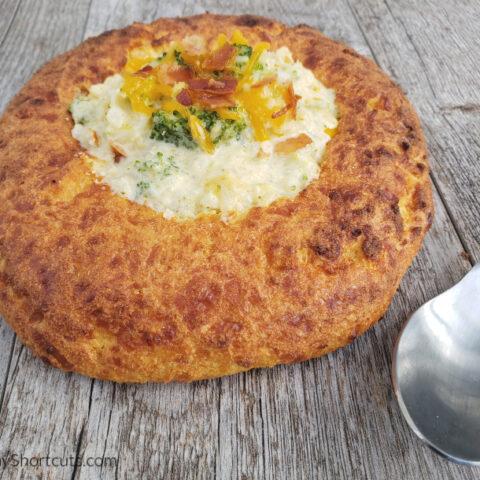 Keto Bread Bowl Recipe