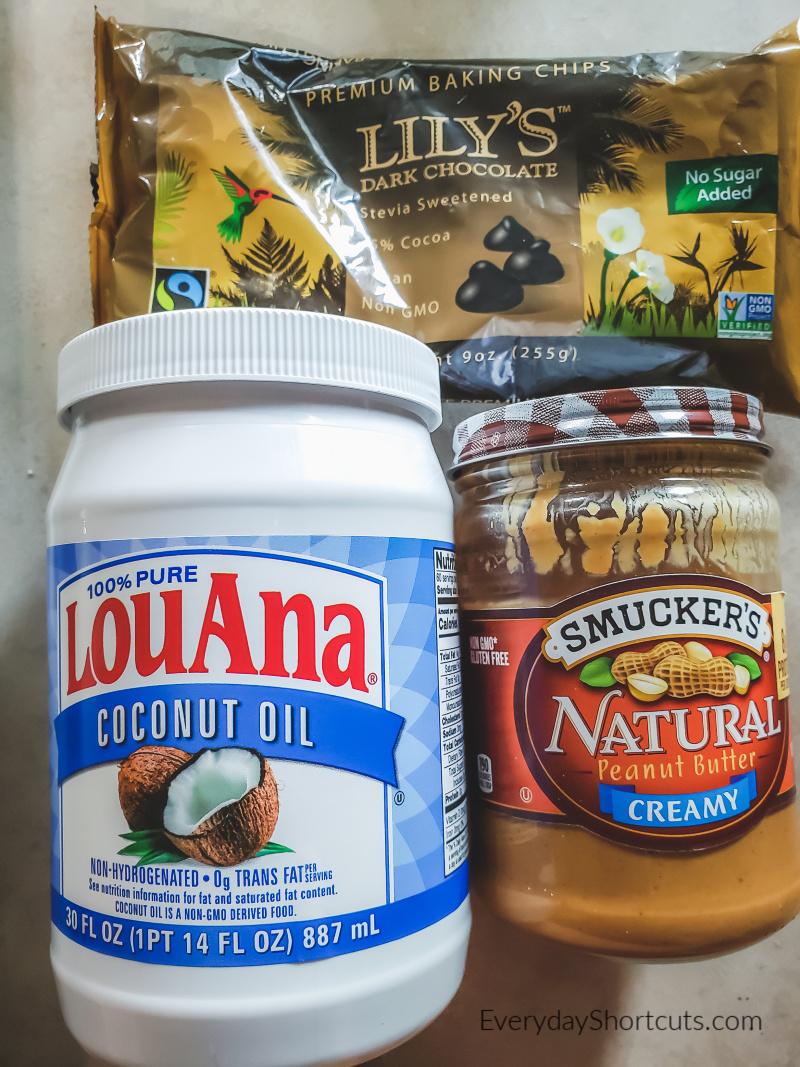 keto-peanut-butter-cups-ingredients