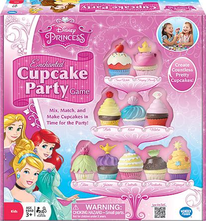 Disney Princess Enchanted Cupcake Party Game Image