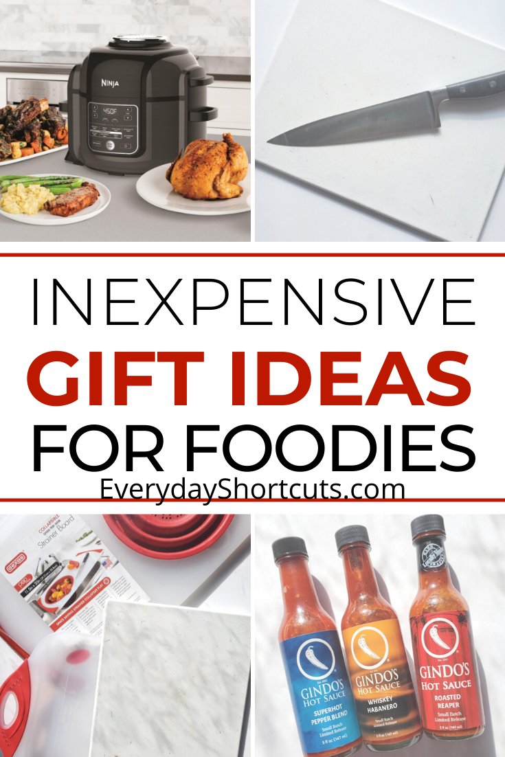 Inexpensive Gift Ideas for Foodies