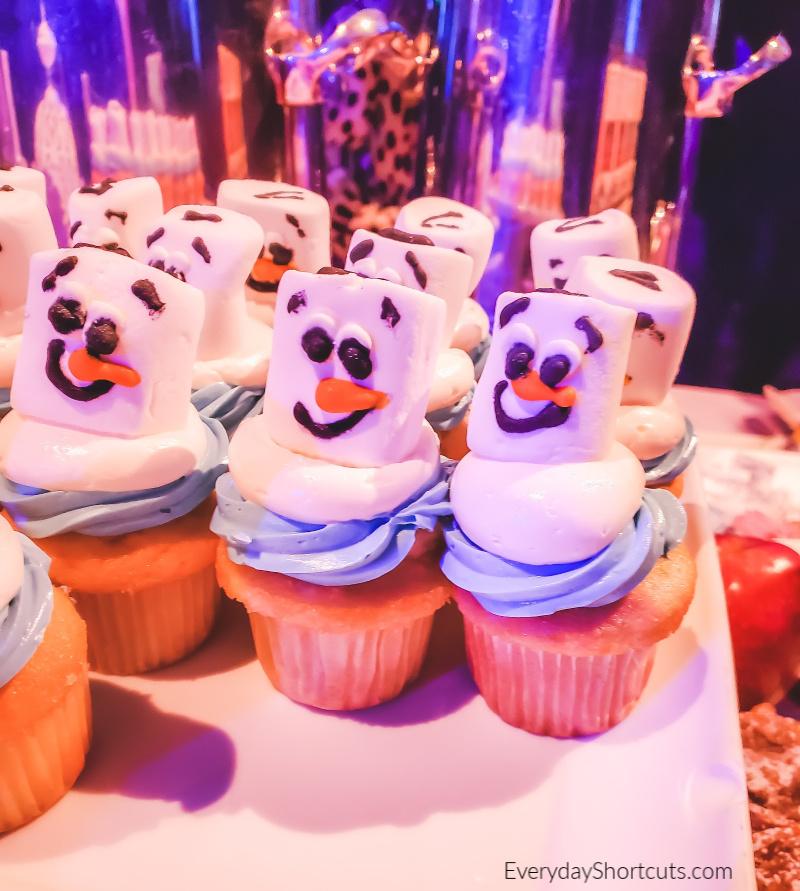 olaf-cupcakes