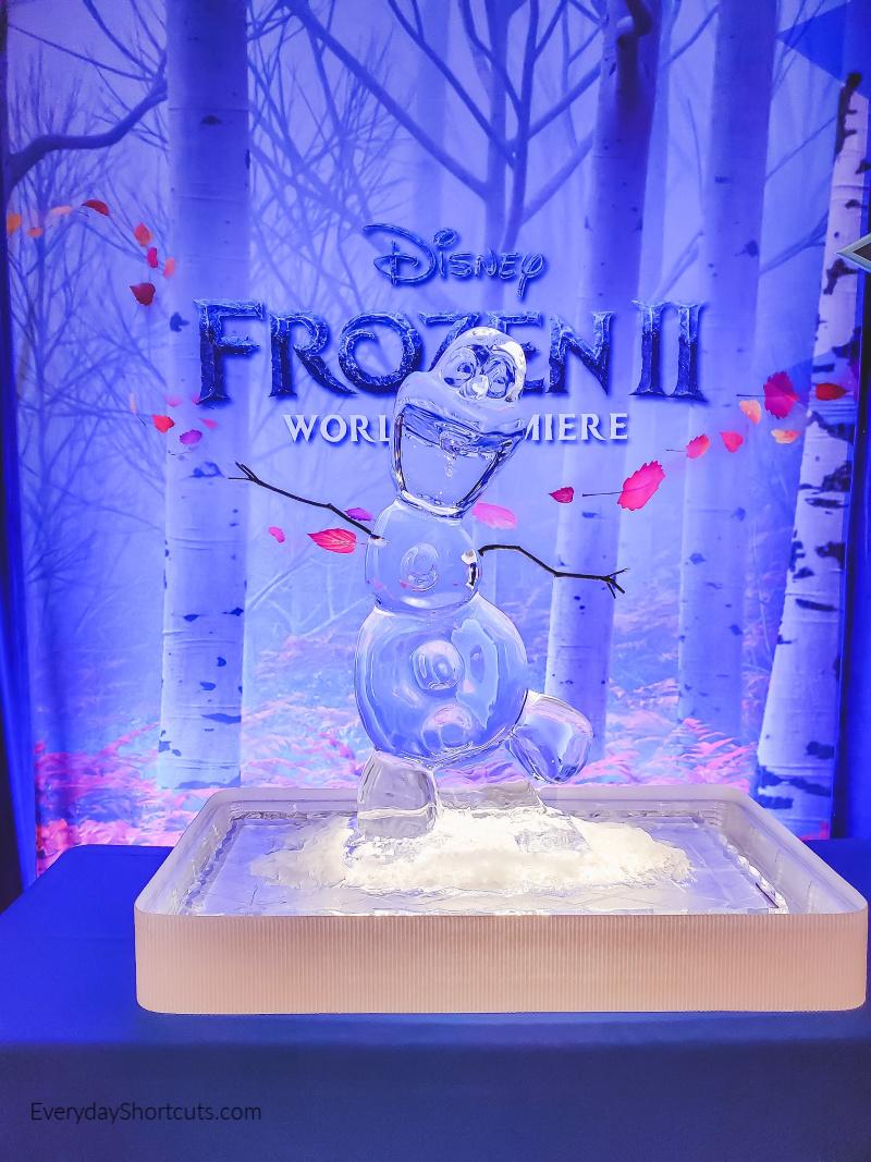 olaf-ice-sculpture