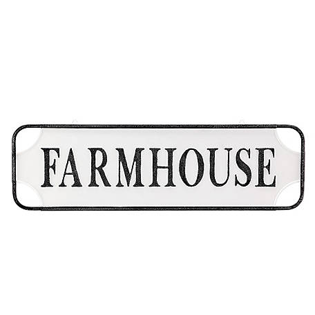 Red Shed Large Metal Farmhouse Sign Image