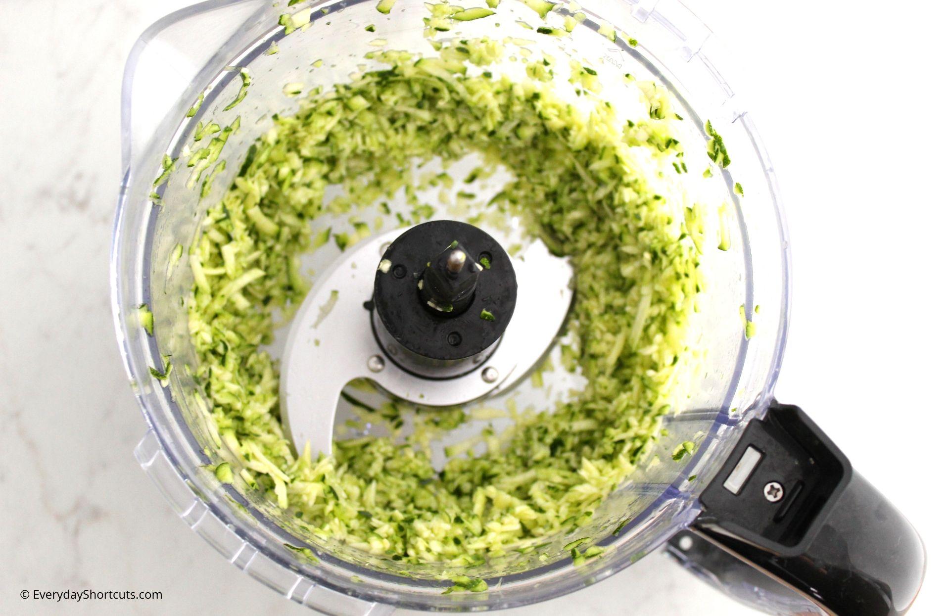 Adding-Zucchini-in-food-processor