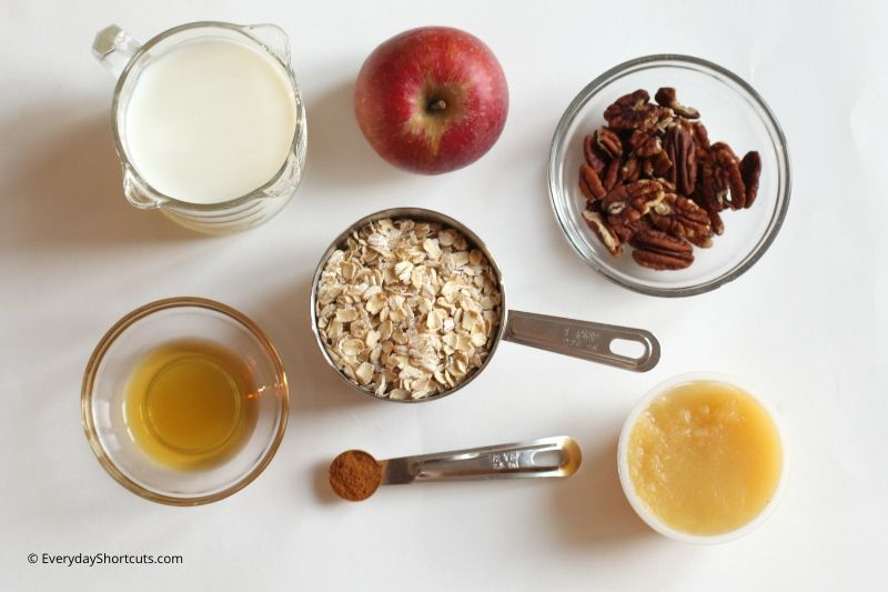 Apple-Pie-Oats-Ingredients