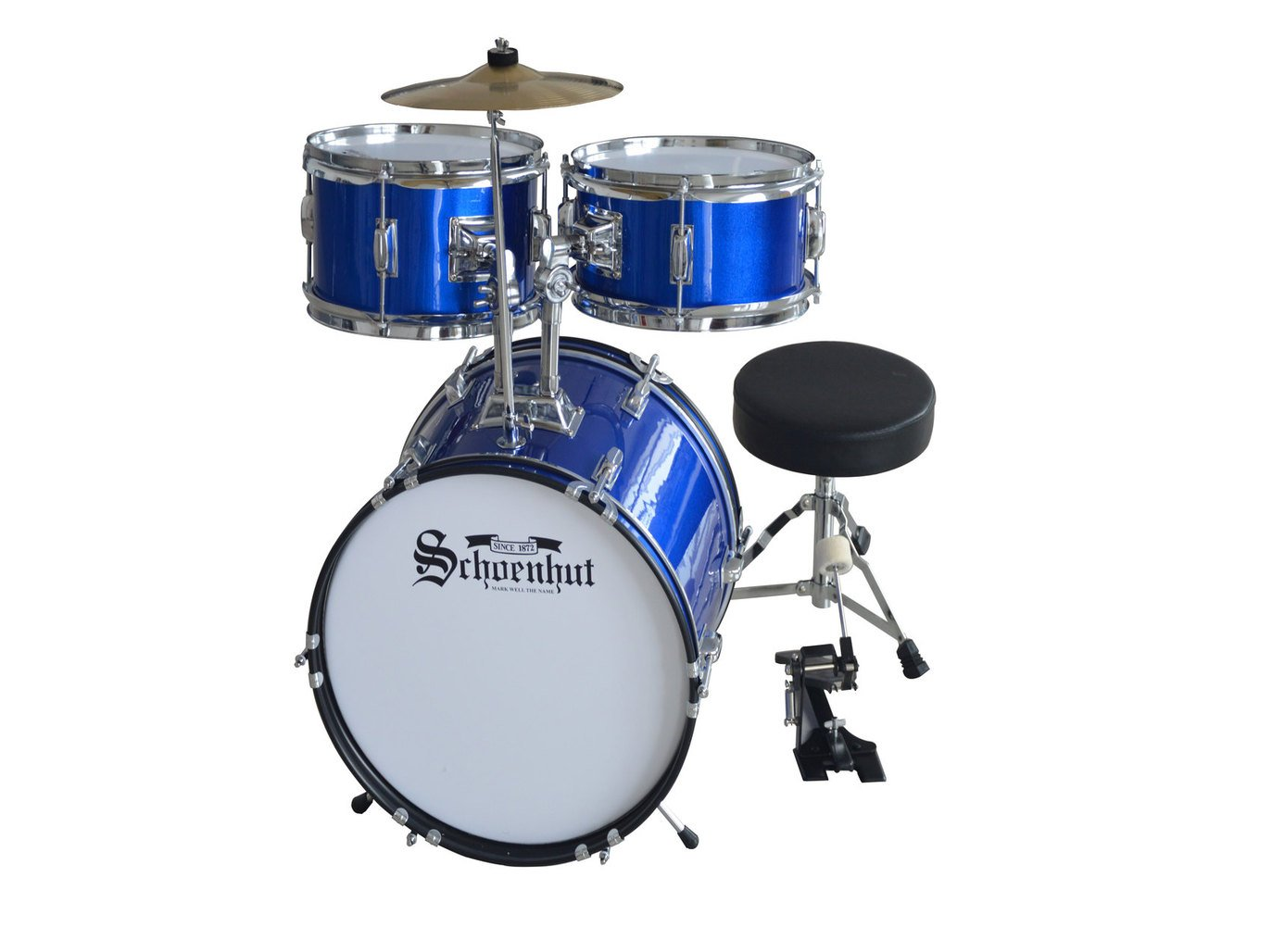 Schoenhut 5-Piece Drum Set Image