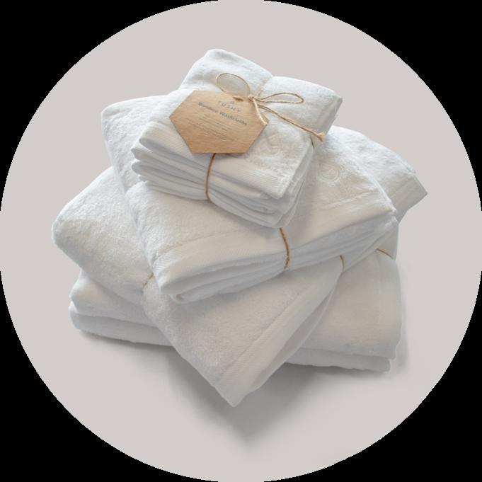 Tushy Bamboo Bath Towel Set Image