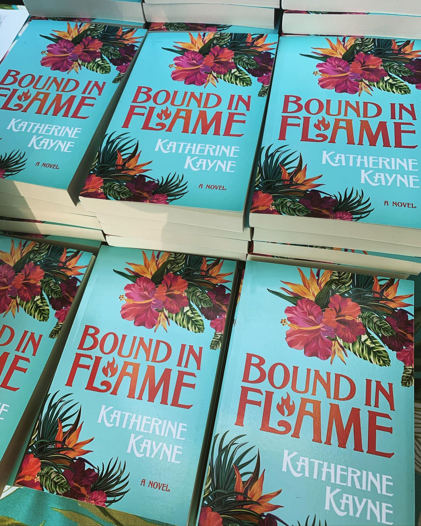 Bound in Flame Book Image