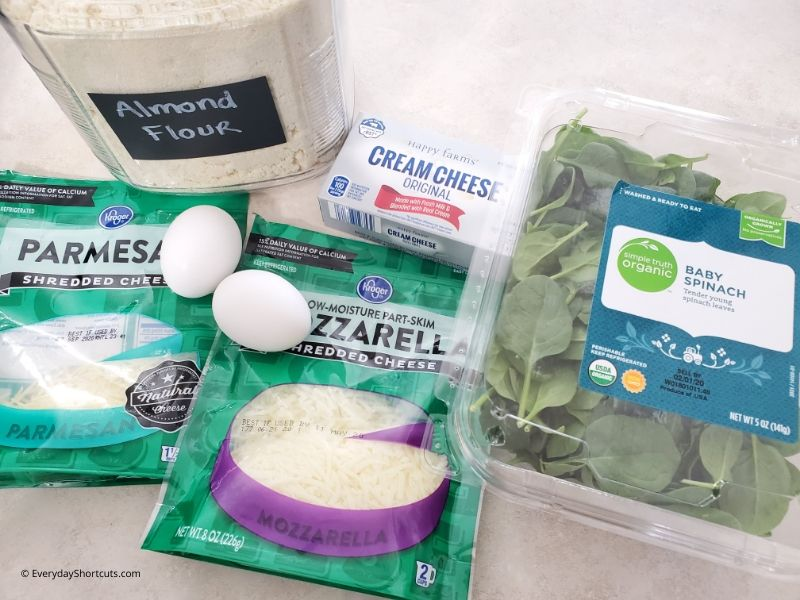 ingredients-for-cheesy-spinach-roll-ups