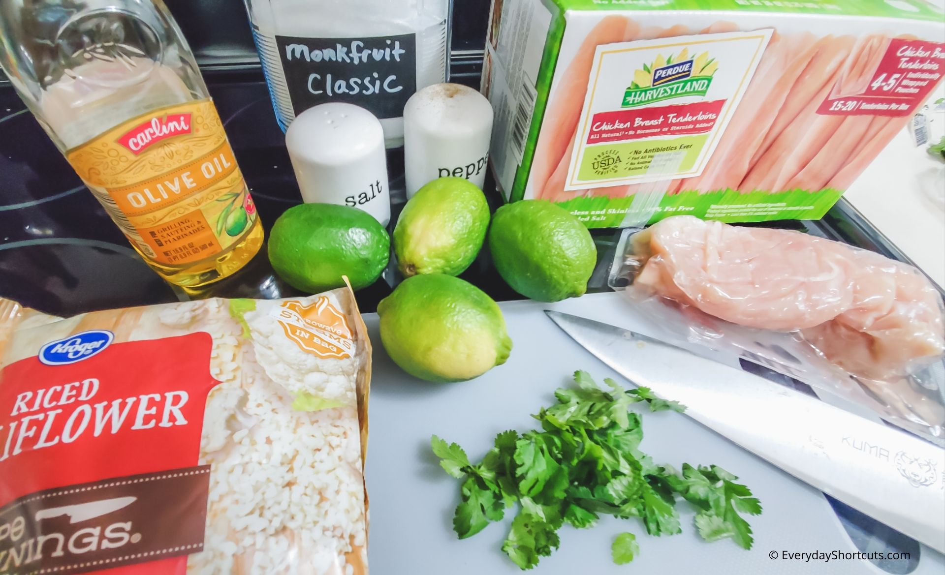 ingredients-for-cilantro-lime-chicken