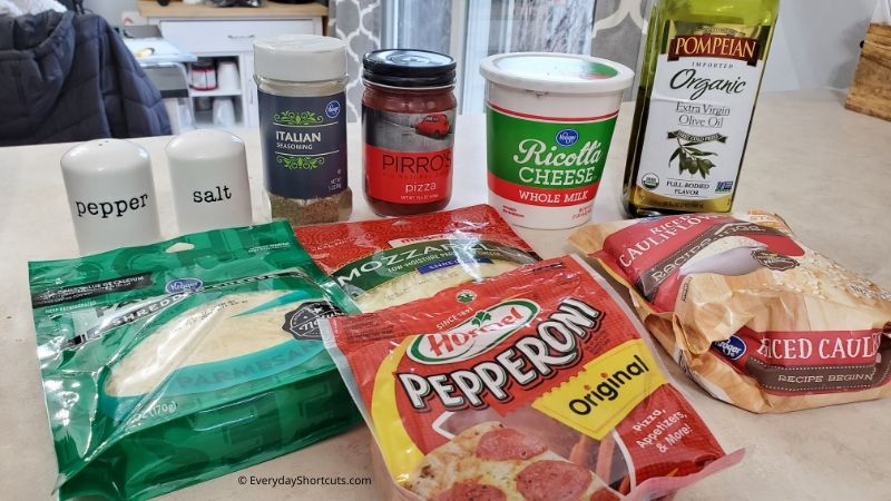 ingredients-for-pizza-casserole