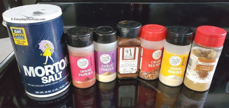 ingredients-for-taco-seasoning