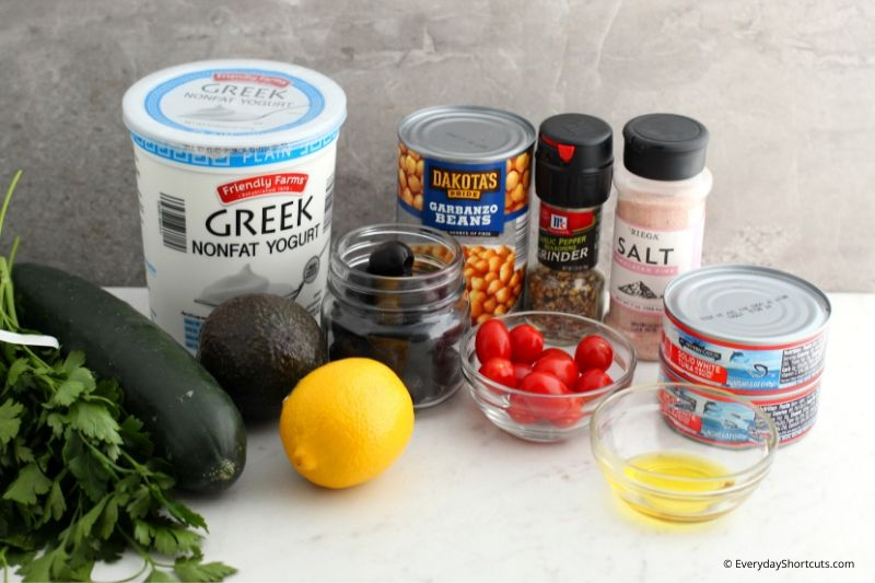 mediterranean-tuna-salad-ingredients